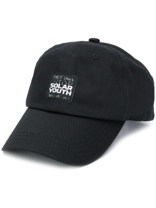 Raf Simons Solar Youth baseball hat in black