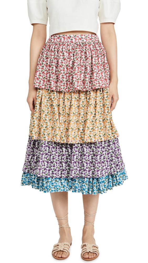 All Things Mochi Chila Skirt in multi
