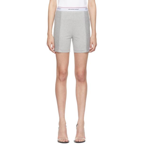 alexanderwang.t Grey Compact Wash and Go Shorts