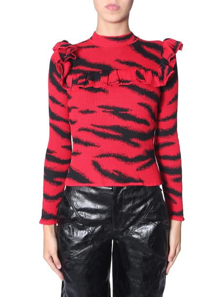 Philosophy di Lorenzo Serafini Tiger Printed Sweater