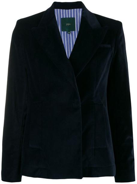 Jejia double-breasted blazer in blue