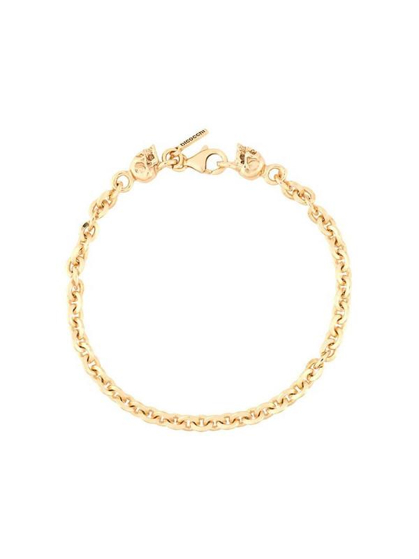 Emanuele Bicocchi skull bracelet in gold
