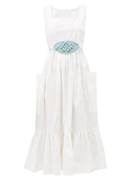 Love Binetti - Simple Minds Tiered Cotton Dress - Womens - White