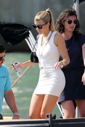 dress,white dress,white,bodycon dress,sofia richie,celebrity,mini dress
