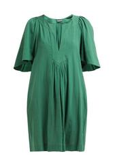 dress,cotton,green