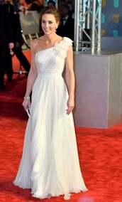 dress,gown,prom dress,celebrity,white dress,kate middleton,wedding dress,red carpet dress