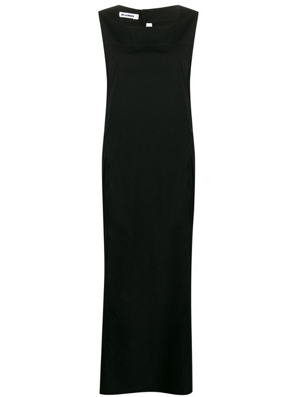 Jil Sander Pre-Owned 1990s maxi dress in black