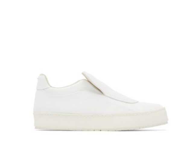 shoes maison margela slip on shoes slip on sneakers white sneakers