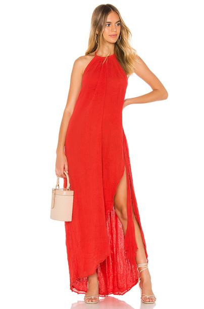 Jen's Pirate Booty Caleta Dress in red
