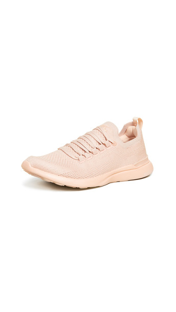 APL: Athletic Propulsion Labs TechLoom Breeze Sneakers in blush