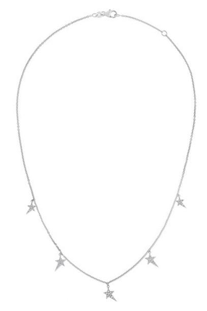Diane Kordas - 5 Star 18-karat White Gold Diamond Necklace