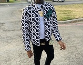 jacket,dolce and gabbana,white,boyfriend,boyish,fashion week