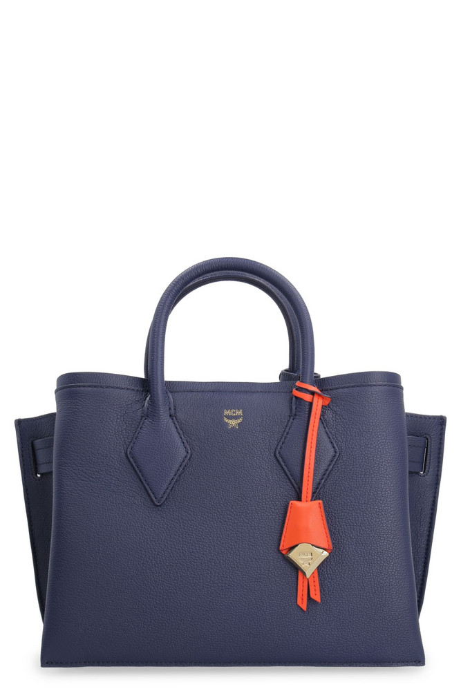 MCM Neo Milla Leather Handbag in blue
