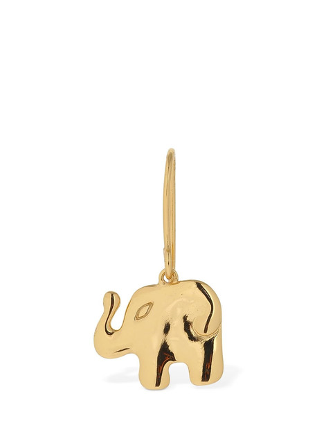 AURELIE BIDERMANN Aurélie Elephant Drop Mono Earring in gold