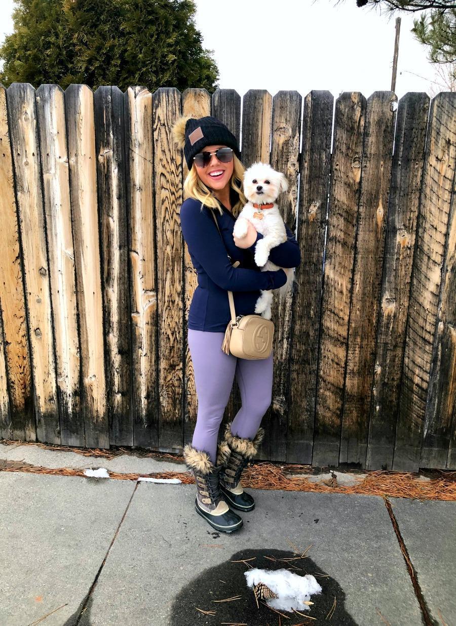 the fashion canvas – a fashion & lifestyle blog blogger jacket leggings hat bag shoes