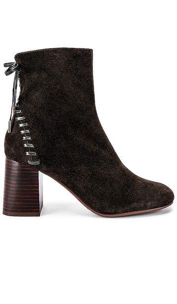 See By Chloe Howl Stitch Bootie in Charcoal