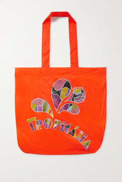 Isabel Marant - Woom Printed Shell Tote - Orange