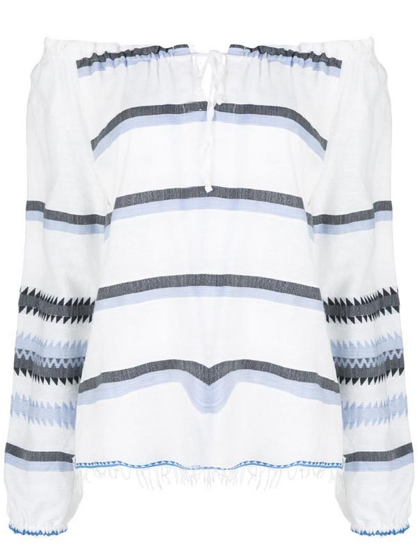 lemlem Aster blouse in blue