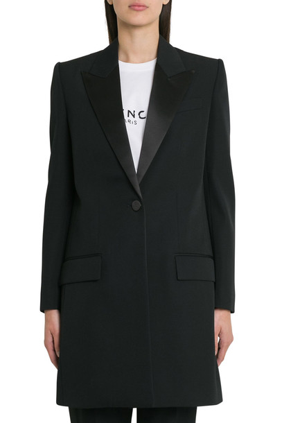 Givenchy Tailored Coat in nero