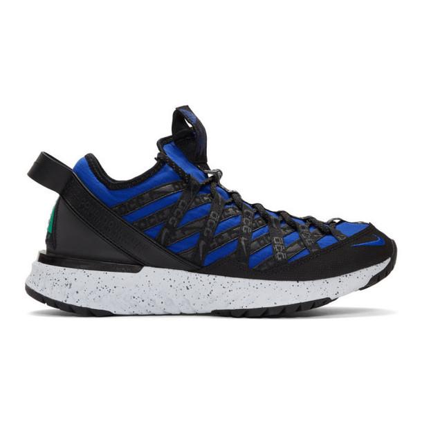 Nike ACG Blue & Black React Terra Gobe Sneakers