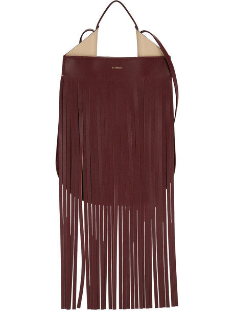 REE PROJECTS Lvr Sustainable Helene Mini Fringed Bag
