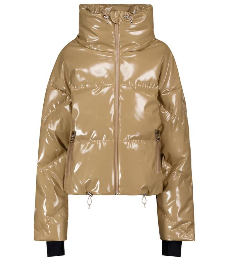 Cordova Mont Blanc down ski jacket in beige