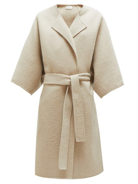 The Row - Dreeton Belted Cashmere Coat - Womens - Cream