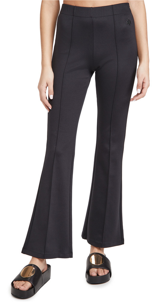 Tory Sport Track Flare Pants in black