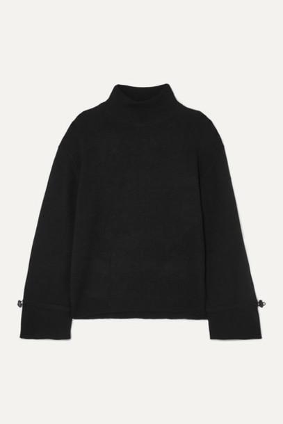 Holzweiler - Merino Wool Turtleneck Sweater - Black