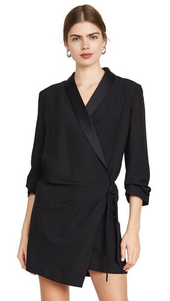 FRAME Tux Cross Dress in noir