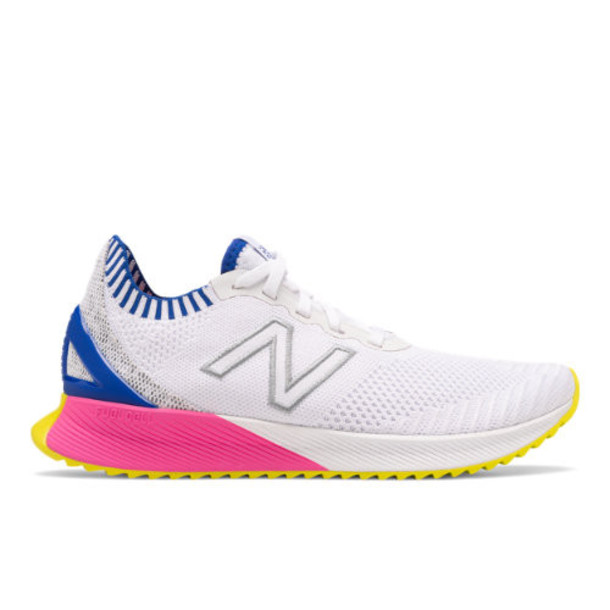 New Balance FuelCell Echo Women's Neutral Cushioned Shoes - White/Blue/Pink (WFCECSW)