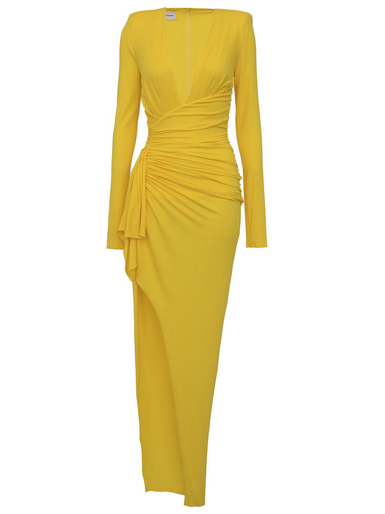 Alexandre Vauthier Dress in yellow