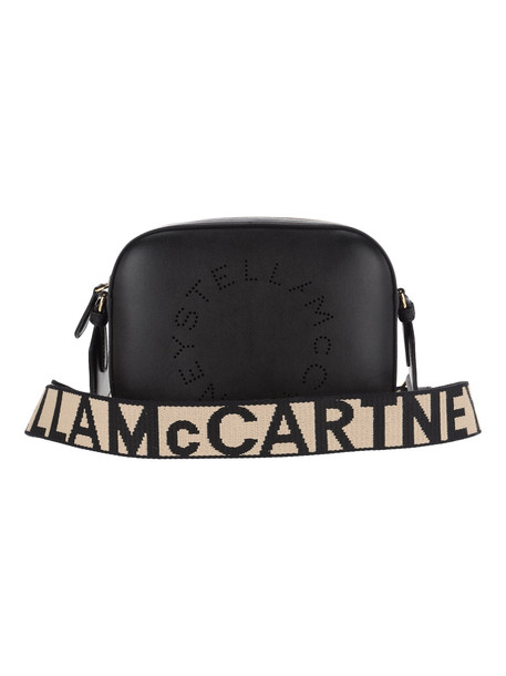 Stella Mccartney Logo Camera Bag in black