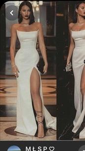 dress,white dress,white,black dress,bodycon dress,mermaid prom dress,prom dress,long dress