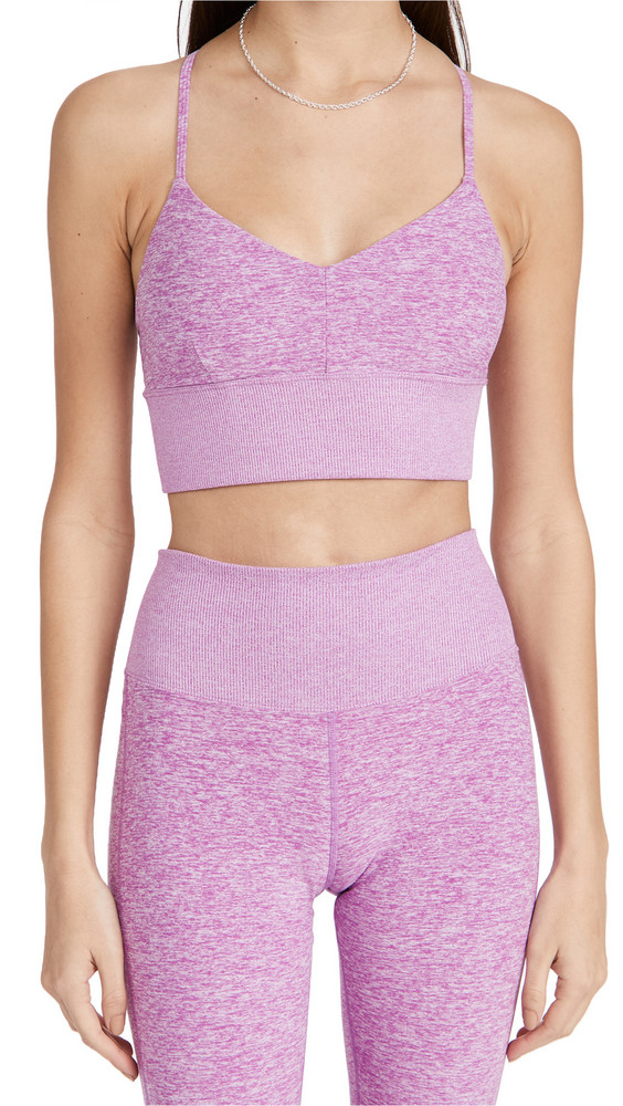 Alo Yoga Alosoft Lavish Bra in violet