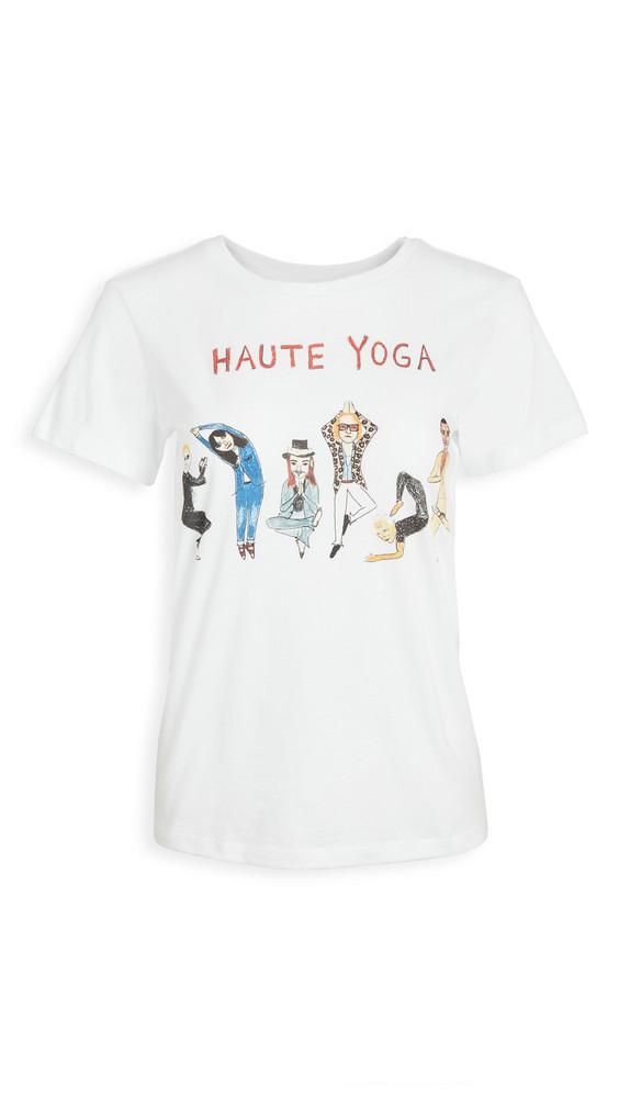 Unfortunate Portrait Haute Yoga Tee in white