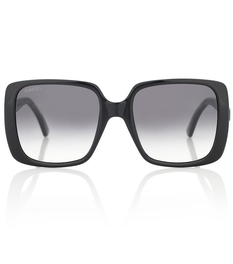 Gucci Square sunglasses in black