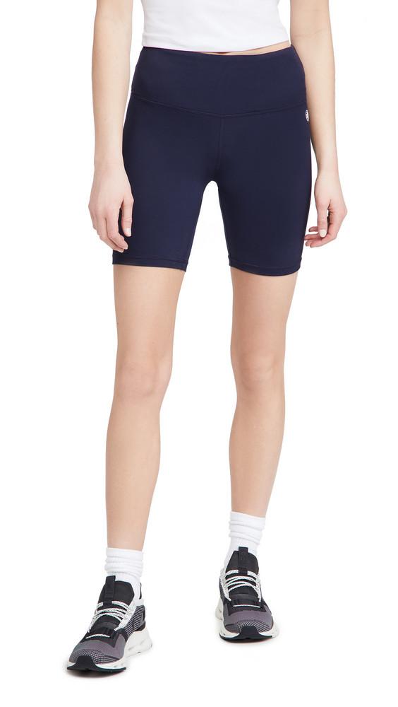 Tory Sport Weightless Bike Shorts in navy