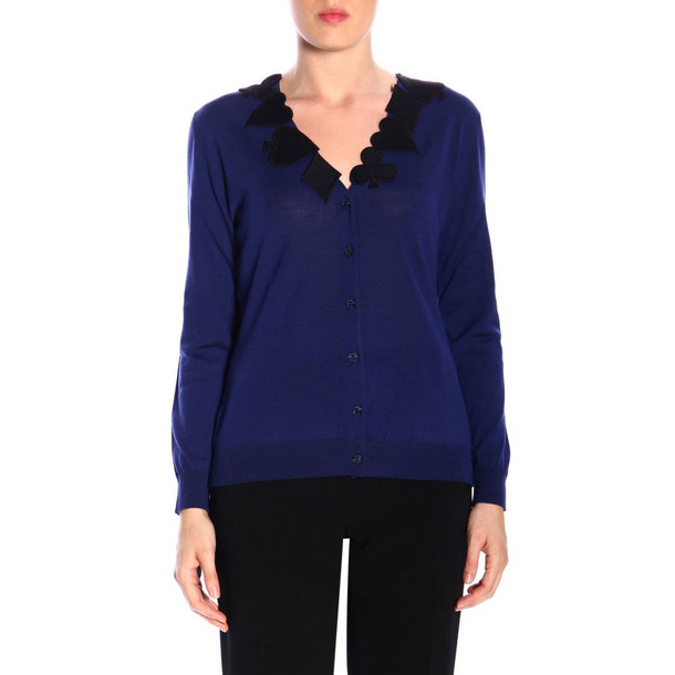 Boutique Moschino Sweater Sweater Women Boutique Moschino in blue