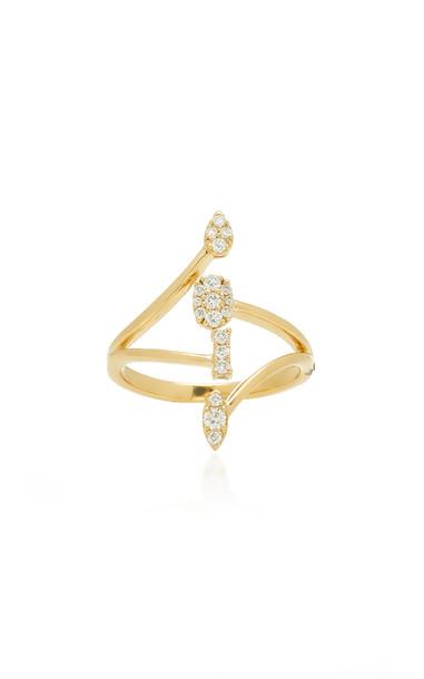 Graziela Natura 18K Gold Diamond Ring