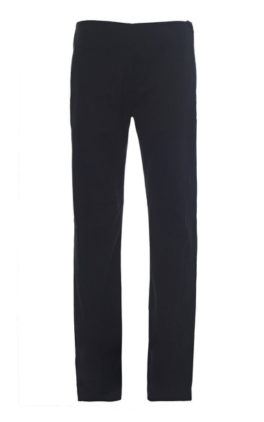 Leal Daccarett Infinito Mid-Rise Slim Cropped Pant Size: 6 in black