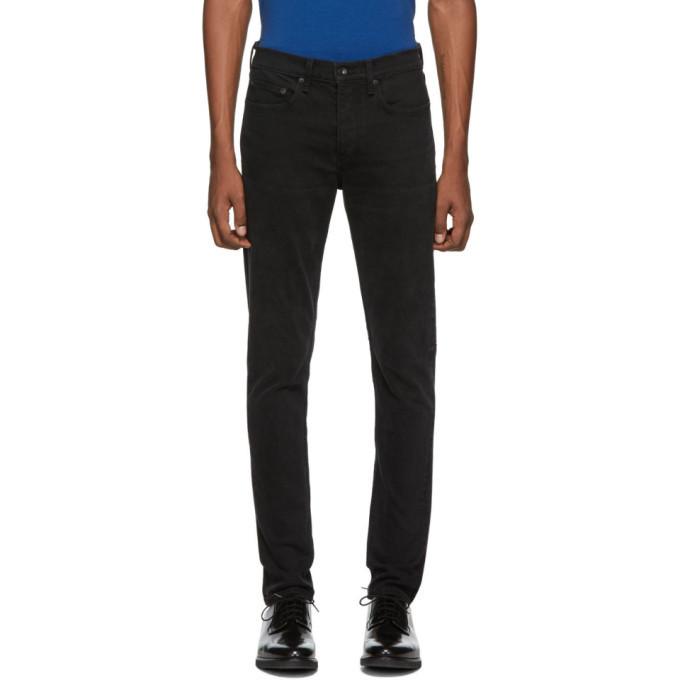 rag and bone rag & bone Black Fit 1 Jeans