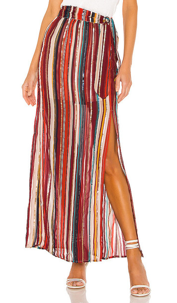 House of Harlow 1960 x REVOLVE Mya Maxi Skirt in Red