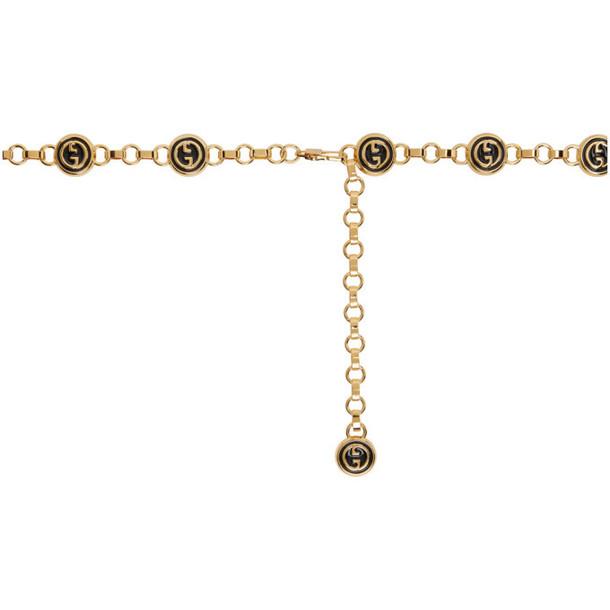 Gucci Gold GG Chain Belt