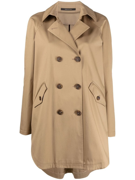 Tagliatore double-breasted trench coat - Neutrals