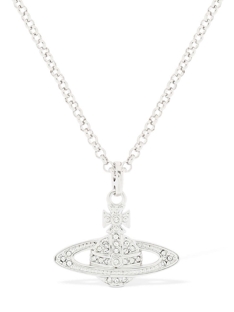 VIVIENNE WESTWOOD Mini Bas Relief Pendant Necklace in silver