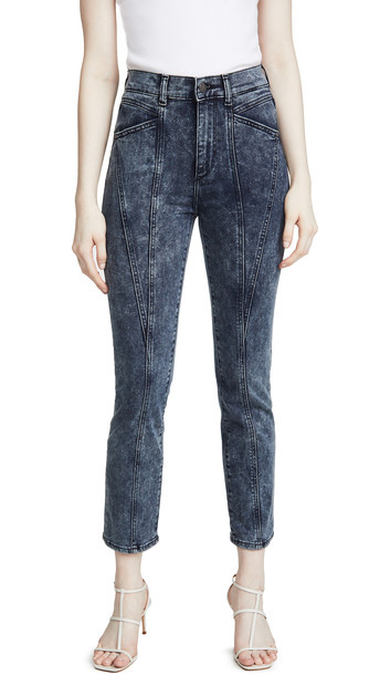DL DL1961 Mara Ankle: High Rise Straight Jeans