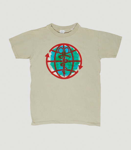DRx Romanelli T-Shirts Women - RxCYCLE Earth Day Upcycled T-Shirt Beige 100% Cotton. Dry clean. M