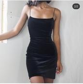 dress,velvet