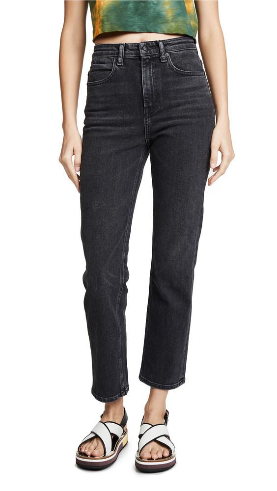 Denim x Alexander Wang Wake Flex Jeans in grey